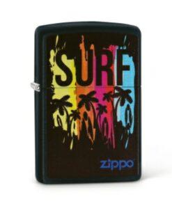 original zippo surf surfen feuerzeug schwarz beach strand