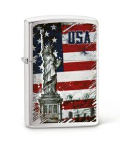 original zippo statue of liberty freiheitsstatue feuerzeug amerika usa rauchen