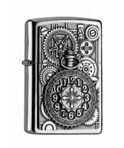 Original zippo pocket watch uhr feuerzeug rauchen accessoire