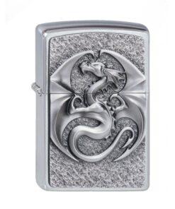 original zippo dragon 3d emblem drache feuerzeug rauchen accessoire