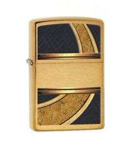 original zippo gold and black schwarz feuerzeug rauchen