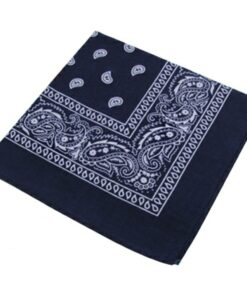 bandana klassiker blau halstuch accessoire