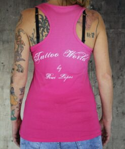 tattooworld shirt tanktop frauen oberteil mode fashion merchandise frau revolver