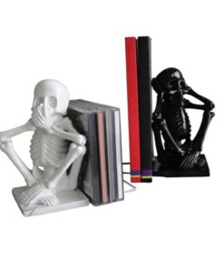 Skeleton Bookends 2er Set Dekoartikel Haushalt Nemesis Now