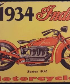 metallschild metalltafel dekoartikel schild retro vintage indian motorcycles motorrad bike