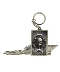 Ace Of Space Schlüsselanhänger Accessoire Totenkopf Skull Nemesis Now