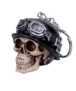 Iron Cross Skull Totenkopf Schlüsselanhänger Accessoire Nemesis Now