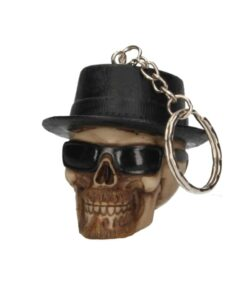 Badass Totenkopf Skull Schlüsselanhänger Accessoire Nemesis Now