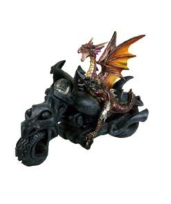 Born To Ride Drache Dragon Statue Dekoartikel Nemesis Now
