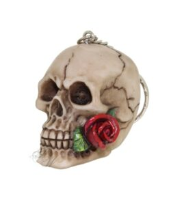 Rose From The Dead Skull Totenkopf Rose Schlüsselanhänger Accessoire Nemesis Now