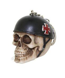 Borne To Be Wild Totenkopf Skull Schlüsselanhänger Accessoire Nemesis Now
