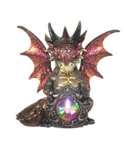 Elix Drache Dragon Statue Dekoartikel Nemesis Now Diamant