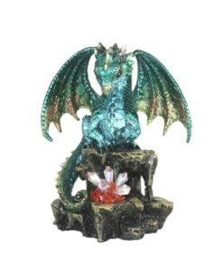 Emeraldon Drache Dragon Edelstein Kristall Statue Dekoartikel Nemesis Now