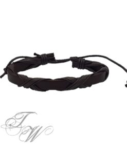 lederarmband schmuck accessoire schwarz