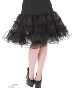 handr london petticoat schwarz mode fashion rockabilly rockabella unterrock frauen