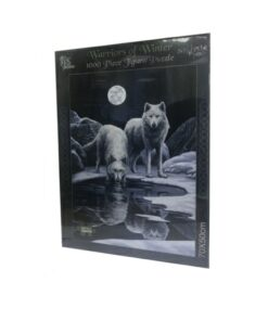 Puzzle Warriors Of Winter Wolf Winter Spiele Nemesis Now