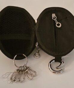 brieftasche portemonnaie handgranate schwarz accessoire