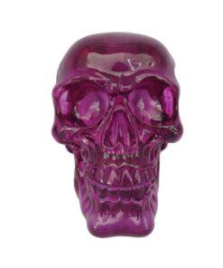Purple Skull Totenkopf Statue Dekoartikel Nemesis Now