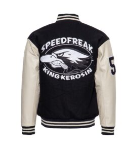 king kerosin baseball lederjacke speedfreak mode fashion herren oberteil
