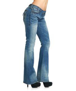 affliction jeans hosen fleur de lys fashion mode damen