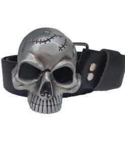 gurt accessoire totenkopf skull schwarz