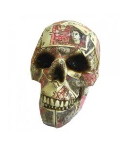 Quids In Skull Saving Box Geld Totenkopf Spardose Statue Dekoartikel Nemesis Now
