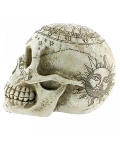 astrological skull astrologie totenkopf dekoartikel statue nemesis now