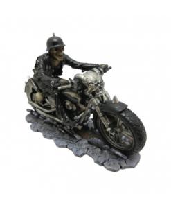 hell on the highway motorcycle biker dekoartikel statue nemesis now
