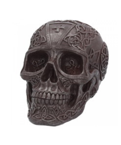 certic iron skull totenkopf dekoartikel statue nemesis now
