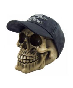 Cappie skull totenkopf dekoartikel statue cap nemesis now