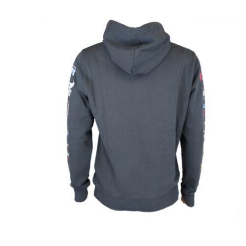 replay hoodie sweater grau not ordinary oberteil fashion herren mode kleider