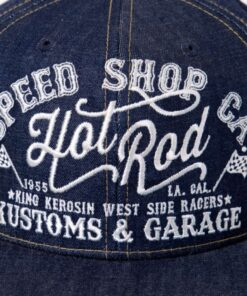 king kerosin cap baseballcap accessoire fashion hot rod speed shop jeansoptik