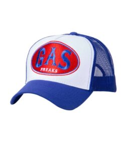 king kerosin cap baseballcap accessoire fashion gas freaks blau weiss