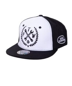king kerosin cap baseballcap accessoire fashion tftw schwarz weiss loud and fast