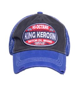 king kerosin cap baseballcap accessoire fashion True roots blau
