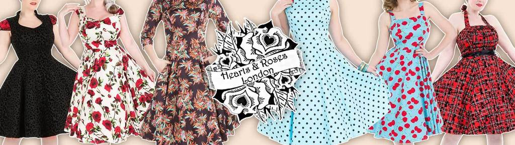 Hearts and roses london onlineshop twstore fashion mode kleider marke