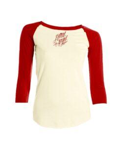 Lethal angel hardtocatch raglan sleeve oberteil gelb rot mode fashion damen kleider
