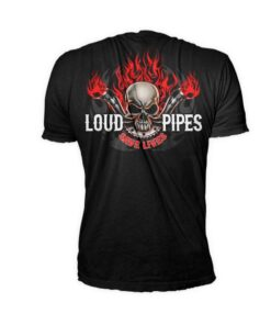 lethal threat shirt tschirt Loud pipes mode fashion oberteil schwarz herren