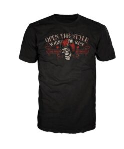 lethal threat shirt tschirt mode fashion oberteil schwarz herren open throttle