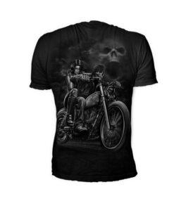 lethal threat shirt tschirt mode fashion oberteil schwarz herren highway to hell