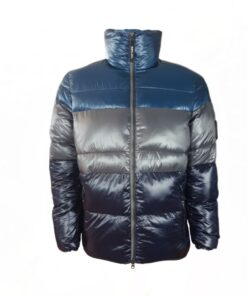 replay jacke blue winterjacke fashion mode herren oberteil