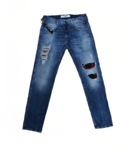 replay jeans slim fit hosen fashion mode herren kleider