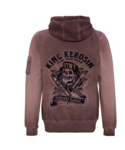 king kerosin hoodie hell racer sweater oberteil herren mode fashion