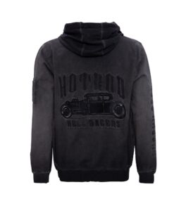 King kerosin hoodie ride hard herren oberteil fashion mode stickerei hot rod