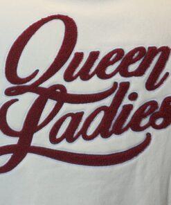 queen kerosin collage jacke frotte ladies fashion mode damen oberteil