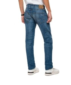 replay jeans grover blau herren mode fashion bekleidung hosen