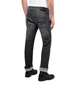 Replay jeans grover schwarz fashion mode herren bekleidung hosen
