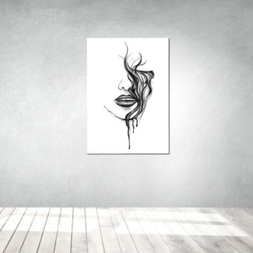 art artwork kunstwerke leinwand poster galleryprint tattooworld rui lopes Hidden Eyes
