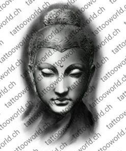 Buddha wannado tattooworld tattoovorlage