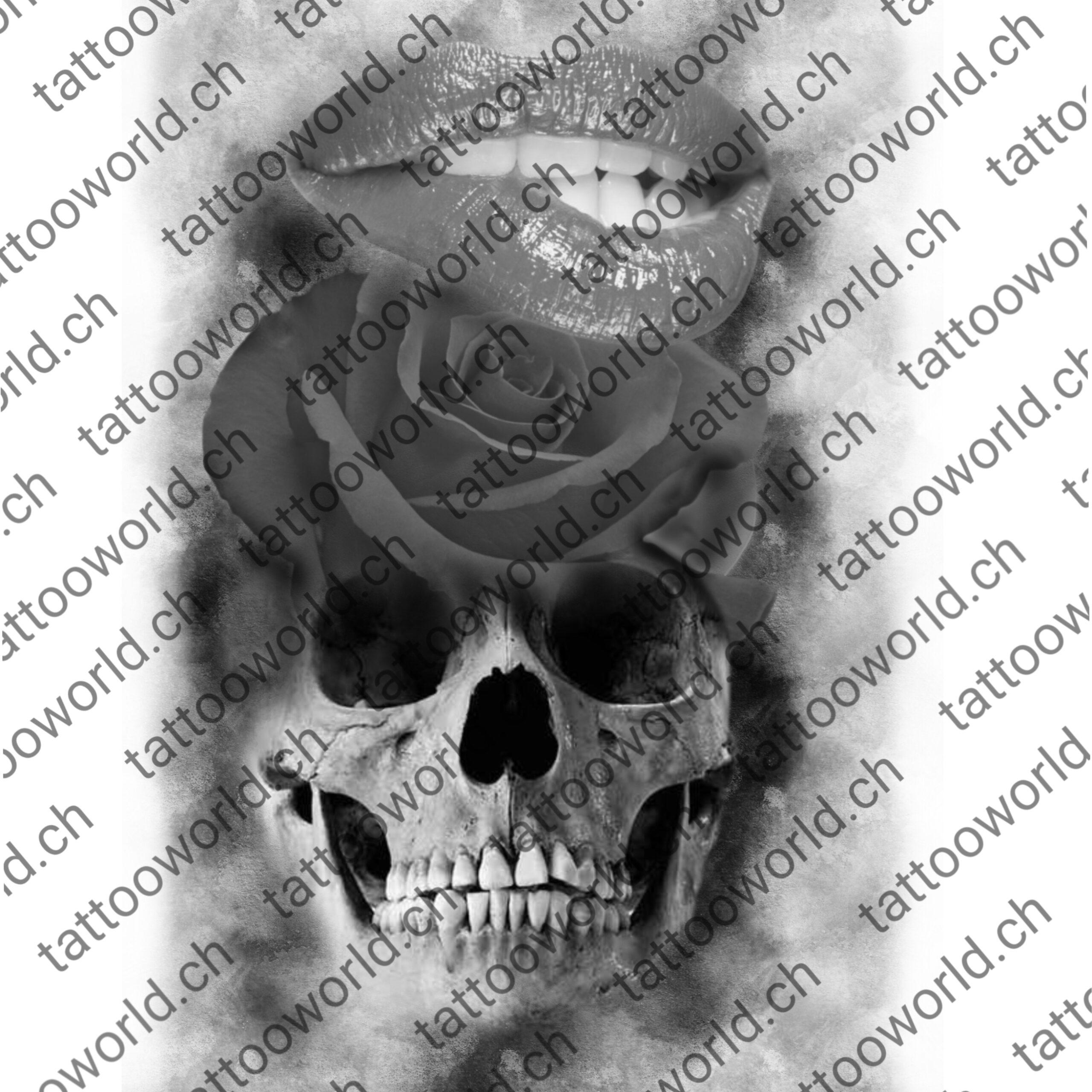 Crane Rose Tw Magasin Tattoo World Modele De Tatouage